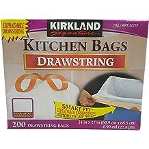 Kirkland Signature XL Cordón Cocina Bolsas de basura ...