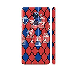 Colorpur LeEco Le 2 Cover - Birds By The Cage Printed Back Case