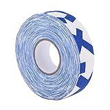 Générique MagiDeal 1 Rouleau de Ruban Bande Adhésive de Poignée de Bâton de Hockey sur Glace - Bleu Blanc, 2,5 cm x 25 m