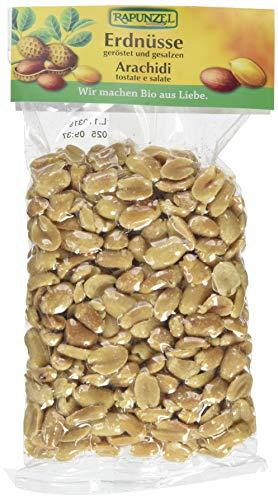 Rapunzel Erdnüsse geröstet, gesalzen, 4er Pack (4x 125 g) - Bio