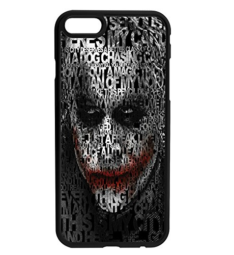 The Joker Quotes DC Comics Inspired Rubber Bumper Hard Back Phone Case Cover for iPhone & Samsung's (Samsung Galaxy S7 Edge)