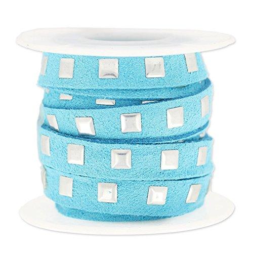 cordon-plano-imitacion-gamuza-cloute-10-mm-azul-aqua-argente-x3m