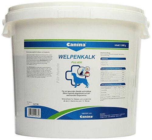 Canina Welpenkalk Pulver, 1er Pack (1 x 5 kg)