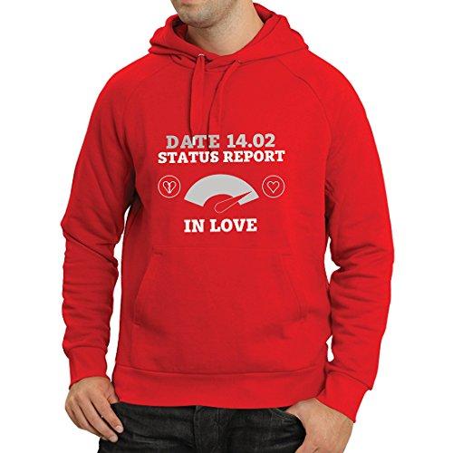 lepni.me Kapuzenpullover 14. Februar Valentinstag Statusbericht. Ich Liebe Dich ! (Medium Rot - Englisch Die In Halloween Von Bedeutung