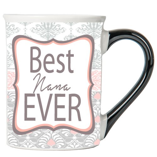 Tumbleweed-Best Nana Ever-Nana Kaffee Tasse, groß 18Keramik Kaffee Becher-Mother 's Day Gifts-Nana Geschenke (Mothers Becher Kaffee Day)