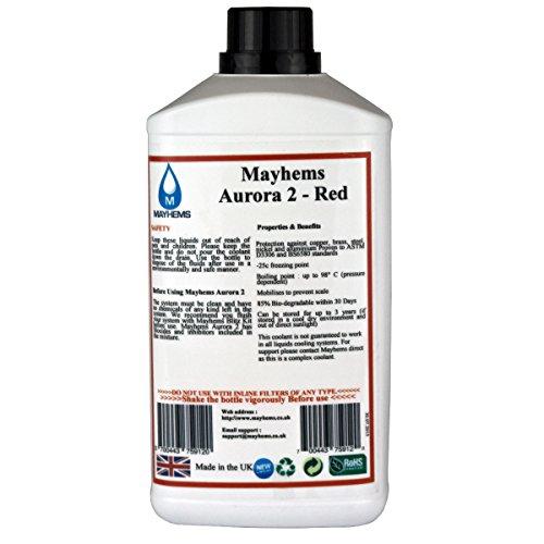 Mayhems Aurora Rot Vorgemischte Wasser kühlflüssigkeit 1L -
