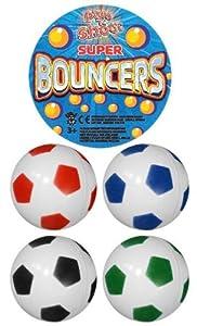 Gifts 4 All Occasions Limited SHATCHI-894 - Balón de fútbol (35 MMS, 6 bolsas, piñata, juguetes, regalos, calcetín Toya, multiusos)