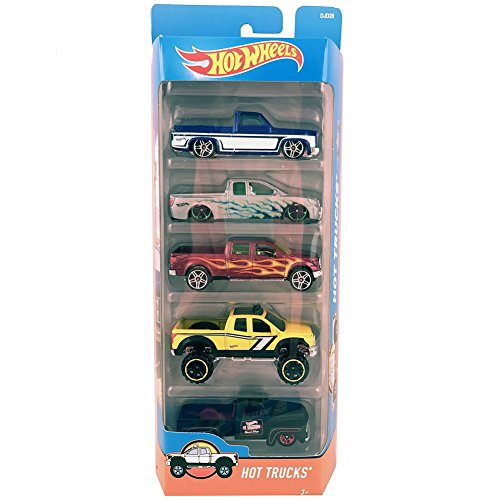 Mattel Hot Wheels Hot Trucks - Die-Cast - 5 Pack - DJD28