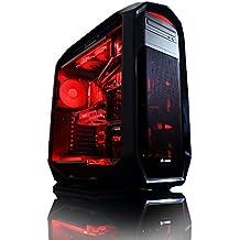 Vibox VBX-PC-00958 Gaming Desktop-PC (Intel Core i7 5930K, 32GB RAM, 3240GB HDD, NVIDIA Geforce GTX Titan X, Win 10 Home) rot