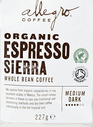 Allegro Coffee Espresso Sierra Whole Bean Coffee, 227g