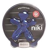 MrandMrs Fragrance Niki Désodorisant pour Voiture Equilibrium, Bleu