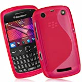 Blackberry Curve 9360/ Apollo Étui HCN PHONE S-Line TPU Gel Silicone Coque souple pour Blackberry Curve 9360/ Apollo - ROSE