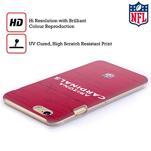 Offizielle NFL Unschärfe Arizona Cardinals Logo Ruckseite Hülle für Apple iPhone 6 / 6s Verzweifelt
