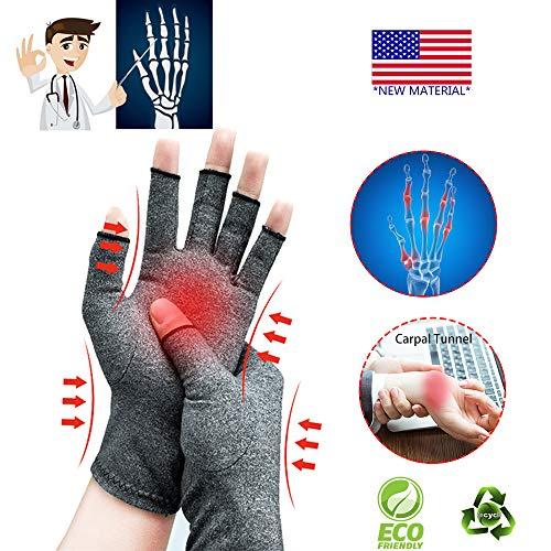 guanti senza dita uomo Guanti per l artrite