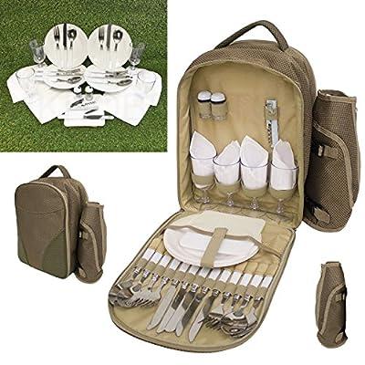 Quality Picnic Set Rucksack Bag - low-cost UK light store.