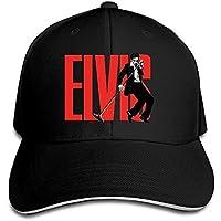 Hittings Gorgeous Elvis Aaron Presley Love Me Tender Singer Rucker Hats Black
