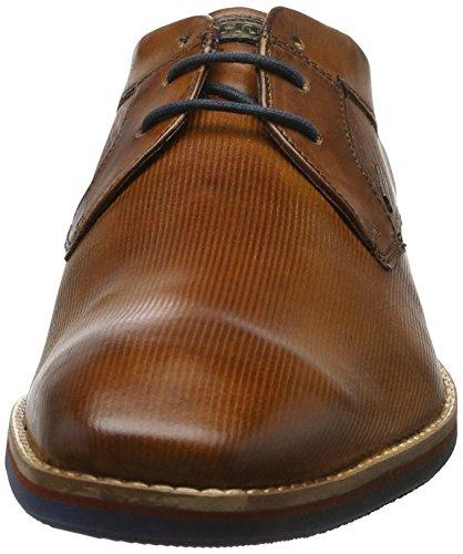 Daniel Hechter Mens 811122031100 Derby Brown (cognac)