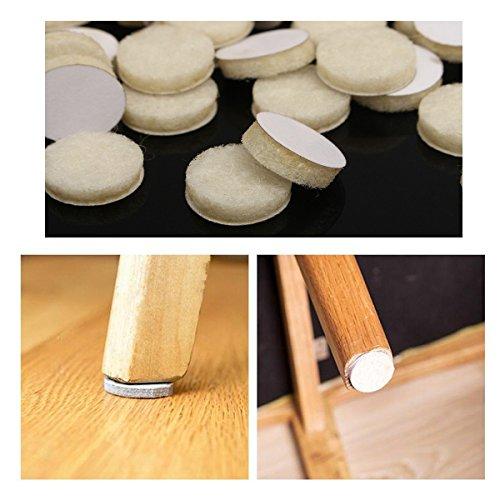 yongse-120pcs-redonda-beige-fieltro-pads-tabla-mats-madera-para-pisos-laminados-muebles-protectores