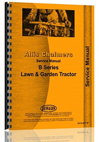 Allis Chalmers HB-112 Lawn & Garden Tractor Service Manual -