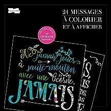 24 messages à colorier et à afficher