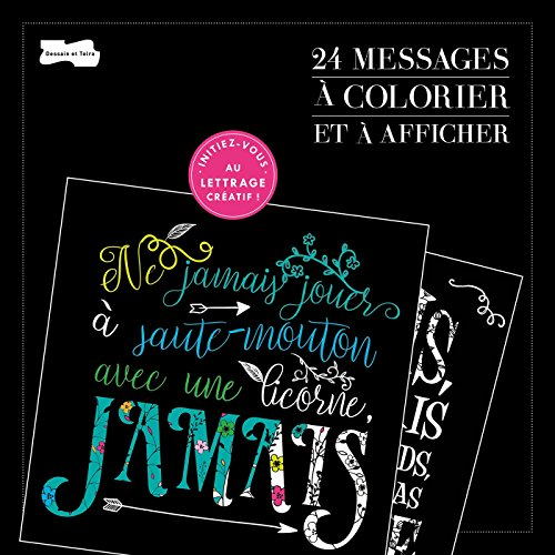 24 messages à colorier et à afficher