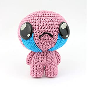 Plüsch Amigurumi Isaac von Crochet, Stofftier, Geschenk