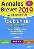 Annales Brevet 2019 Tout-en-un (Annales du Brevet)