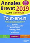 Annales Brevet 2019 Tout-en-un