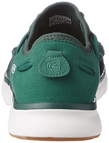 Keen Uneek O2 W, Sneakers Basses Femme EVERGREEN/PINENEEDLE
