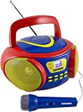 Telefunken RC1006M tragbares MP3-CD-Radio für Kinder