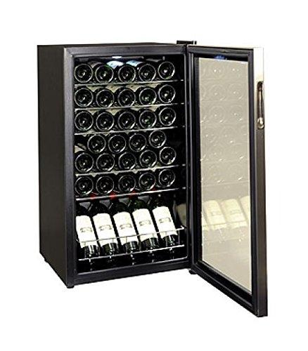 Vin Sur Vin Petite cave de service pour mise à température du vin - mono compartiment - capacité 33 bouteilles VSV33