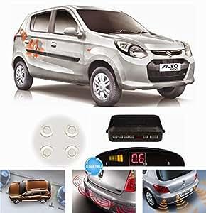Digitru - Reverse Car Parking Sensor for Alto 800 (White)