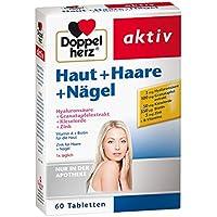 Doppelherz Haut + Haare + Nägel Tabletten 60 stk preisvergleich bei billige-tabletten.eu