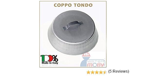COPPO DIA 34 CM X COTTURA SOTTO BRACE EFFETTO FORNO NEL CAMINETTO STUFA BARBECUE