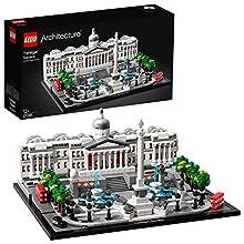 LEGO- Architecture Trafalgar Square Set di Costruzioni per Ricostruire uno dei Famosi Angoli di Londra, per Ragazzi +12 Anni, Multicolore, 21045
