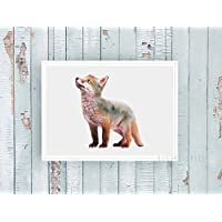 Kunstdruck / Bild LITTLE FOX -un