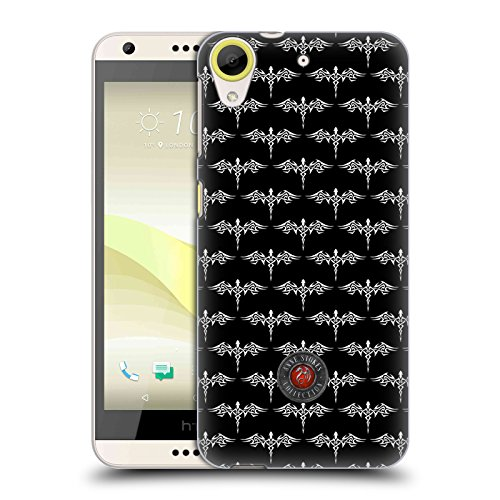 Official Anne Stokes Dragon Sticker Fire Tribal Hard Back Case for HTC Desire 650