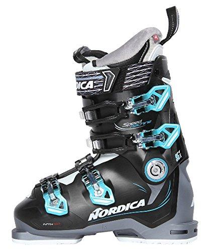 """Nordica Damen Skischuhe """"Speedmachine 95x"""" grau/schwarz (719) 25,5"""