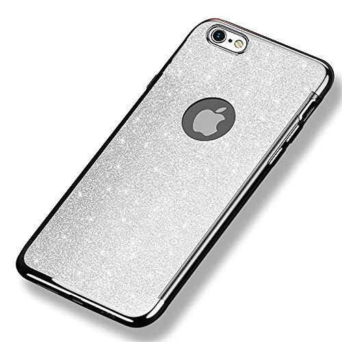 35fa0289bcb CLTPY Funda para iPhone 6s, iPhone 6 Carcasa Transparente, Cubierta  Protectora del Silicón Suave