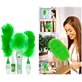 VANDU ENTERPRISE Motorized Rotating Duster for Home, Laptop Cleaning, Car Accessory Cleaner Set (Medium, Multicolour)