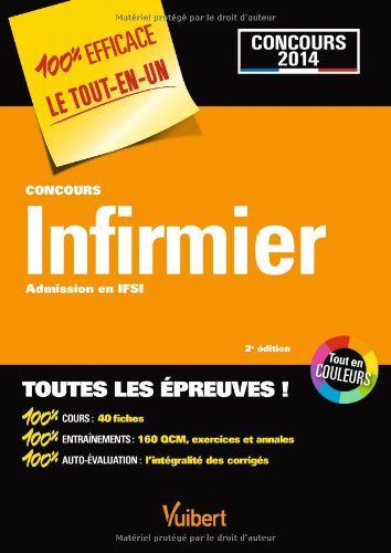 Concours Infirmier - Admission en IFSI - Toutes les épreuves - Concours 2014