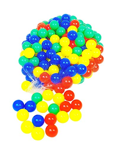 Iso Trade Bällebad Bälle Plastikbälle Kinderbälle Kunststoffbälle Ball Ø 6cm , Menge:1000 (Bälle 1000 Bällebad)