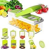 Pei Gemüseschneider Manuell 10 Stück Zerkleinerer Kitchen Gemüsehobel Küchenhobel Kartoffelschneider Für Gemüse Und Obst