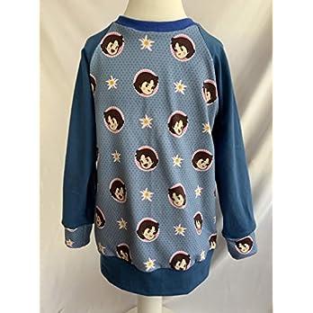 Pullover Heidi auf blau 110/116