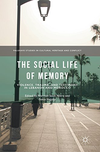 The Social Life of Memory: Violence, Trauma, and Testimony in Lebanon and Morocco (Palgrave Studies in Cultural Heritage and Conflict)