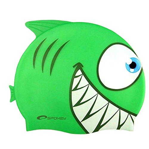 Spokey Haifisch für Kinder, Badekappe, Bademütze, Badehaube, Cap , spokey:Hai...