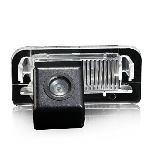 HDMEU Caméra de Recul pour Voiture, Arrière-vue Du Vhicule Parking Assistance Plaque D'immatriculation Lumière Caméra de Recul avec Vision étanche et Nuit pour MB B Class W246 B180 B200 B220 B250