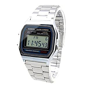 Casio Collection A158WA-1DF Unisex Chronograph