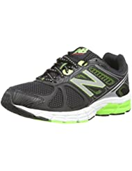 New Balance M670BG1 - Zapatillas de running para hombre, color negro / verde