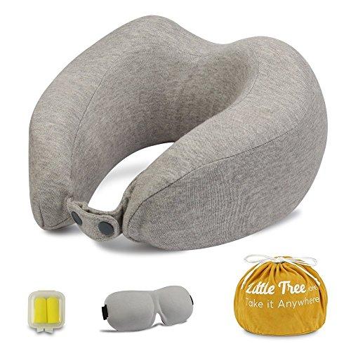Almohada de Viaje Cervical,espuma de memoria y Cómoda de Diseño Ergo